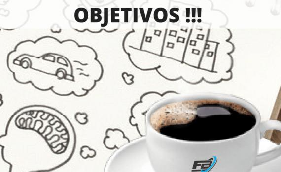 Tomar um café pode realizar os seus objetivos !!!